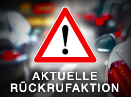 Rückrufaktion für VW und Audi